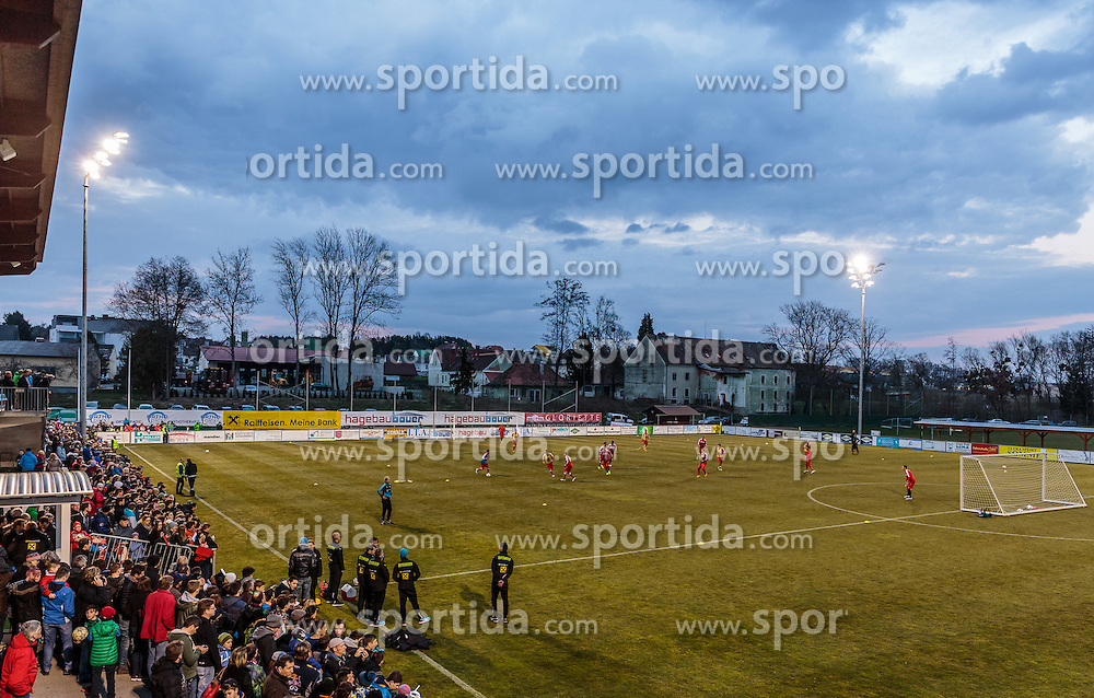 22.03.2016, Sportzentrum, Stegersbach, AUT, OeFB Training, im Bild Stadionuebersicht // Overview of the Training during a Trainingssession of Austrian National Footballteam at the Sportcenter in Stegersbach, Austria on 2016/03/22. EXPA Pictures © 2016, PhotoCredit: EXPA/ JFK