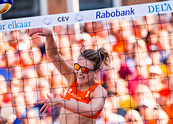 17-07-2018 NED: CEV DELA Beach Volleyball European Championship day 3<br /> Sophie van Gestel #1