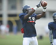 Ole Miss defensive back Anthony Alford (16) at football practice in Oxford, Miss. on Sunday, August 4, 2013.
