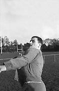 Irish Rugby Football Union,  Five Nations,Irish team practice before Scottish game, Dublin, Ireland, 25th February, 1966,.25.2.1966, 2.25.1966,  Irish Rugby Football Union, Ireland v Scotland, Five Nations, Landsdowne Road, Dublin, Ireland, Saturday 26th February, 1966,.26.2.1966, 2.26.1966,..Referee- D M Hughes, Welsh Rugby Football Union, ..Score- Ireland 3 - 11 Scotland, ..Irish Team, ..T J Kiernan,  Wearing number 15 Irish jersey, Full Back, Cork Constitution Rugby Football Club, Cork, Ireland,..W R Hunter, Wearing number 14 Irish jersey, Right Wing, C I Y M S Rugby Football Club, Belfast, Northern Ireland, ..M K Flynn, Wearing number 13 Irish jersey, Right Centre, Wanderers Rugby Football Club, Dublin, Ireland, ..J C Walsh,  Wearing number 12 Irish jersey, Left Centre, Sundays Well Rugby Football Club, Cork, Ireland, ..P J McGrath,  Wearing number 11 Irish jersey, Left Wing, University college Cork Rugby Football Club, Cork, Ireland,  ..C M H Gibson, Wearing number 10 Irish jersey, Stand Off, Cambridge University Rugby Football Club, Cambridge, England, and, N.I.F.C, Rugby Football Club, Belfast, Northern Ireland, ..R M Young, Wearing number 9 Irish jersey, Scrum Half, Queens University Rugby Football Club, Belfast, Northern Ireland,..R A Lamont, Wearing number 8 Irish jersey, Forward, Instonians Rugby Football Club, Belfast, Northern Ireland, ..M G Doyle, Wearing number 7 Irish jersey, Forward, Cambridge University Rugby Football Club, Cambridge, England,..N Murphy, Wearing number 6 Irish jersey, Forward, Cork Constitution Rugby Football Club, Cork, Ireland,..O C Waldron, Wearing number 5 Irish jersey, Forward, Oxford University Rugby Footabll Club, Oxford, England, ..W J McBride, Wearing number 4 Irish jersey, Forward, Ballymena Rugby Football Club, Antrim, Northern Ireland,..R J McLoughlin, Wearing number 3 Irish jersey, Captain of the Irish team, Forward, Gosforth Rugby Football Club, Newcastle, England, ..K W Kennedy, Wearing number 2 Irish jersey, Forward