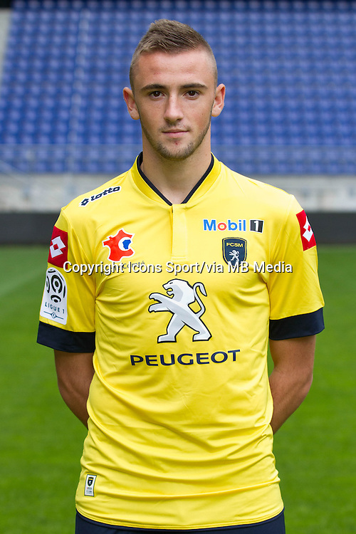 Joachim Eickmayer - 19.09.2013 - Photo officielle - Sochaux - Ligue 1<br /> Photo : Steeve Constanty / Icon Sport
