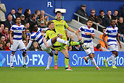 Rotherham United midfielder Lee Frecklington (8) battles for possession with Queens Park Rangers forward Idrissa Sylla (40) during the EFL Sky Bet Championship match between Queens Park Rangers and Rotherham United at the Loftus Road Stadium, London, England on 18 March 2017. Photo by Matthew Redman.