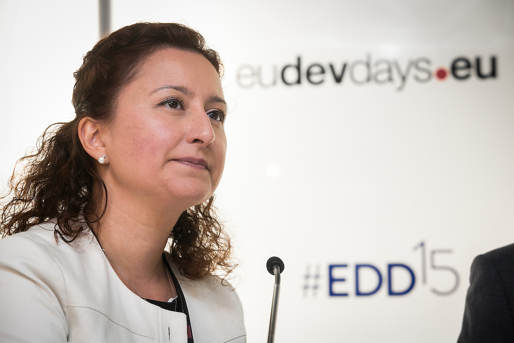 04 June 2015 - Belgium - Brussels - European Development Days - EDD - Growth - Financing the SWITCH to green SMEs across Asia , Africa and the Mediterranean - Burcu Tuncer , Coordinator , SWITCH-Med Network Facility (UNEPFI) © European Union