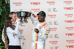 LONG BEACH, CA - APRIL 5  American actor, television director, dancer, and game show host Alfonso Ribeiro picks his car number during media day for Pro/Celebrity Race at Toyota Grand Prix of Long Beach on 2016 April 5, in Long Beach, California. Byline, credit, TV usage, web usage or linkback must read SILVEXPHOTO.COM. Failure to byline correctly will incur double the agreed fee. Tel: +1 714 504 6870.