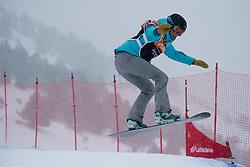 MENTEL-SPEE Bibian, Snowboarder Cross, 2015 IPC Snowboarding World Championships, La Molina, Spain