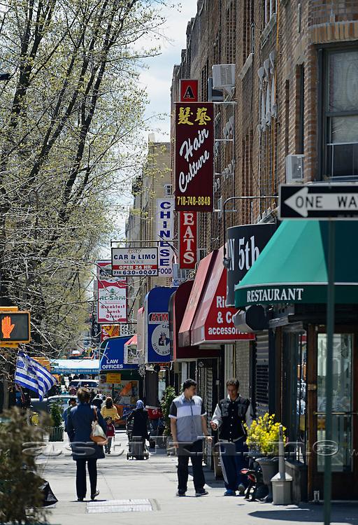 Street of Bay Ridge (Beirut) NYC, USA..