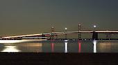 Blue Moon at Bay Bridge
