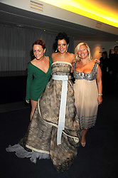 Left to right, JAIME WINSTONE, LILY ALLEN and her mother ALISON OWEN at the GQ Men of the Year Awards held at the Royal Opera House, London on 2nd September 2008.<br /> <br /> NON EXCLUSIVE - WORLD RIGHTS