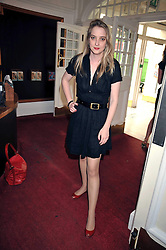 DAISY DE VILLENEUVE at a special screening of Time Bandits by Terry Gilliam hosted by Faber-Castell and GQ magazine held at The Electric Cinema, 191 Portobello Road, London W11 on 29th June 2009.