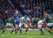 Twickenham, United Kingdom, Saturday, 3rd November 2018, RFU, Rugby, Stadium, England,   Quilter, Autumn International, England vs South Africa, © Peter Spurrier