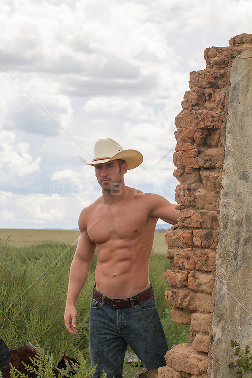 cowboy on a ranch in New Mexico