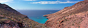 Overlooking El Embudo (The Funnel) on Isla Partida in the Sea of Cortez