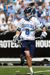 10 April 2010: North Carolina Tar Heels midfielder Michael Jarvis (8) during a 7-5 loss to the Virginia Cavaliers at the New Meadowlands Stadium in the Meadowlands, NJ.