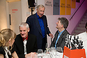 SIR JAMES DYSON, SIR TERENCE CONRAN AND DEYAN SUDJIC. Brit Insurance Design Awards. Design Museum. London. 18 March 2008.  *** Local Caption *** -DO NOT ARCHIVE-© Copyright Photograph by Dafydd Jones. 248 Clapham Rd. London SW9 0PZ. Tel 0207 820 0771. www.dafjones.com.