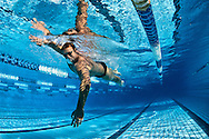 Ian THORPE of Australia is pictured during a training session at his 50m outdoor training pool at the Centro sportivo nazionale della gioventu in Tenero, Switzerland, Friday, Sept. 9, 2011. (Photo by Patrick B. Kraemer / MAGICPBK)