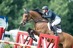Whitaker Robert (GBR) - Catwalk IV<br /> Furusiyya FEI Nations Cup<br /> International Horse Show - Hickstead 2014<br /> © Hippo Foto - Jon Stroud