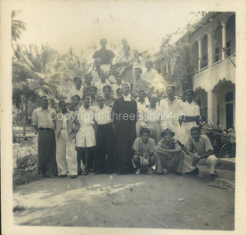 from the Tony Peries Collection.<br /> Yes that 1947 St. Joseph's College trip. I think the cleric was a brother from St Anne college. Kurunegala.