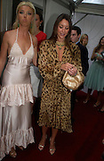 Tamara Beckwith and Tamara Mellon. Glamour Women Of The Year Awards 2005, Berkeley Square, London.  June 7 2005. ONE TIME USE ONLY - DO NOT ARCHIVE  © Copyright Photograph by Dafydd Jones 66 Stockwell Park Rd. London SW9 0DA Tel 020 7733 0108 www.dafjones.com