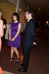 PRINCESS EUGENIE OF YORK and JACK BROOKSBANK at the Masterpiece Midsummer Party in aid of Marie Curie Cancer Care held at The Royal Hospital Chelsea, London on 2nd July 2013.