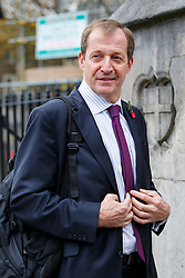 © Licensed to London News Pictures. 03/11/2015. London, UK. Alistair Campbell attending a memorial service for ex-Liberal Democrat leader Charles Kennedy at St George's Cathedral in London on Tuesday, 3 November, 2015. Mr Kennedy died suddenly on June 1, 2015 at the age of 55 after suffering a major haemorrhage as a result of a long battle with alcoholism. Photo credit: Tolga Akmen/LNP