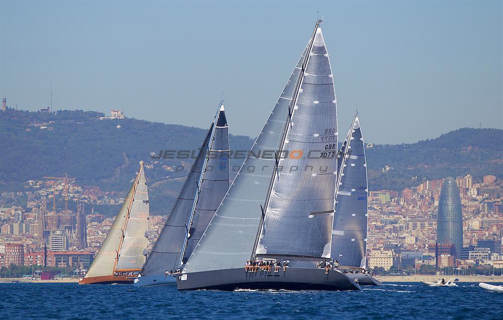 39 Trofeo de vela Conde de Godo.FIRST DAY OF RACING, ©jesus renedo wally class, J_ONE JEAN-CHARLES DECAUX