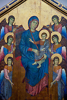 Icon of Maria with the Heavenly Host