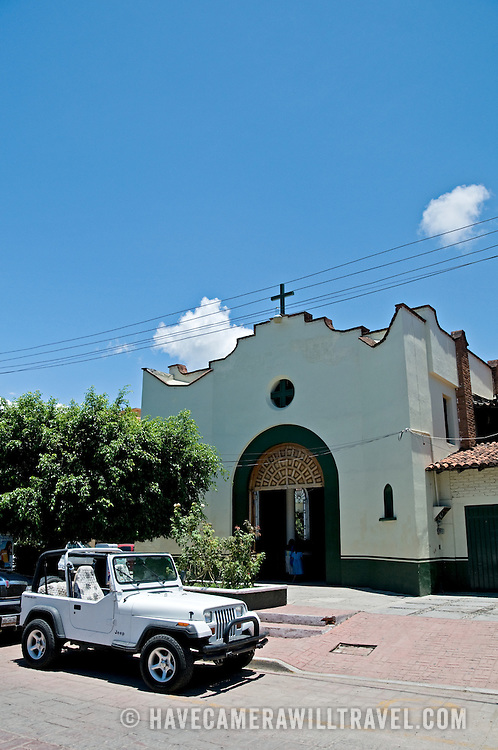 Church in downtown Zihuatanejo, Mexico