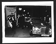 Arriving Feathers Ball. Hammersmith Palais. London. December 1980
