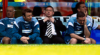 Photo: Alan Crowhurst.<br />Crystal Palace v Derby County. Coca Cola Championship. 29/04/2007. Derby manager Billy Davies (C) knows he's lost out on automatic promotion.