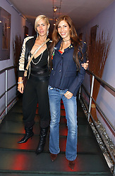 Left to right, MTV presenters STEF NEWMAN and ANOUSKA BOLTON-LEE at a Jewellery launch party with designs by Helena Clegg held at The Collection, 264 Brompton Road, London on 26th July 2005.<br />