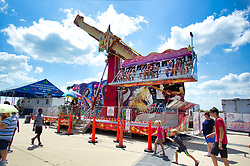 McLean County Fair - carnival midway