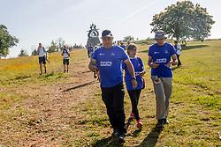 16-06-2017 NED: We hike to change diabetes day 6, Santiago de Compostela <br /> De laatste dag van Herrerias de Valcarce naar Santiago de Compastela. De laatste kilometers, Spain