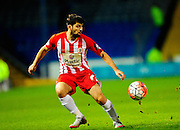 Accrington Stanley's Piero Mingoia during the The FA Cup match between Portsmouth and Accrington Stanley at Fratton Park, Portsmouth, England on 5 December 2015. Photo by Graham Hunt.