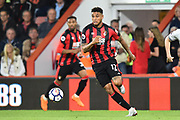 Joshua King (17) of AFC Bournemouth during the Premier League match between Bournemouth and Manchester United at the Vitality Stadium, Bournemouth, England on 18 April 2018. Picture by Graham Hunt.