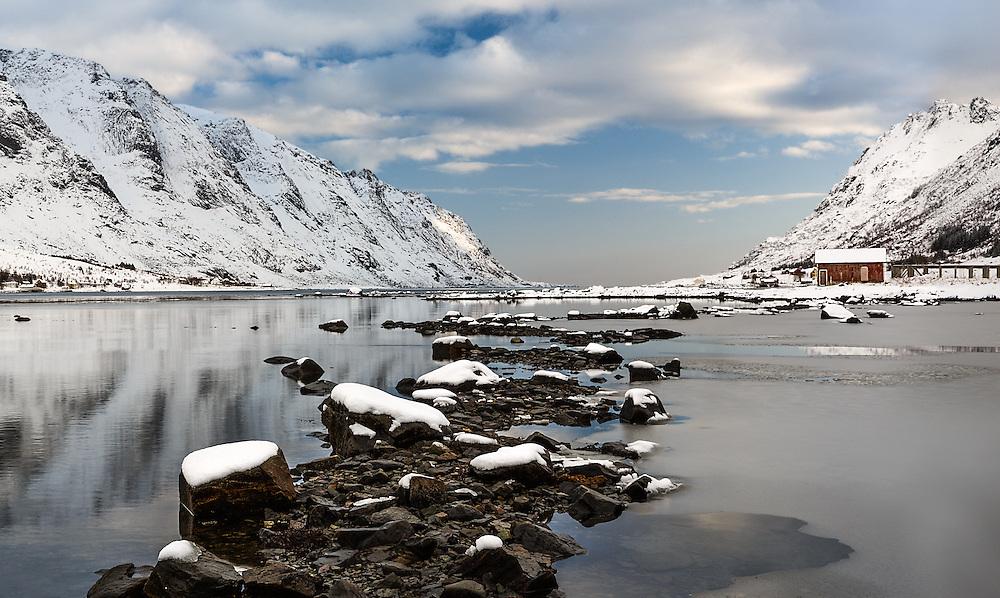 Sund fjord
