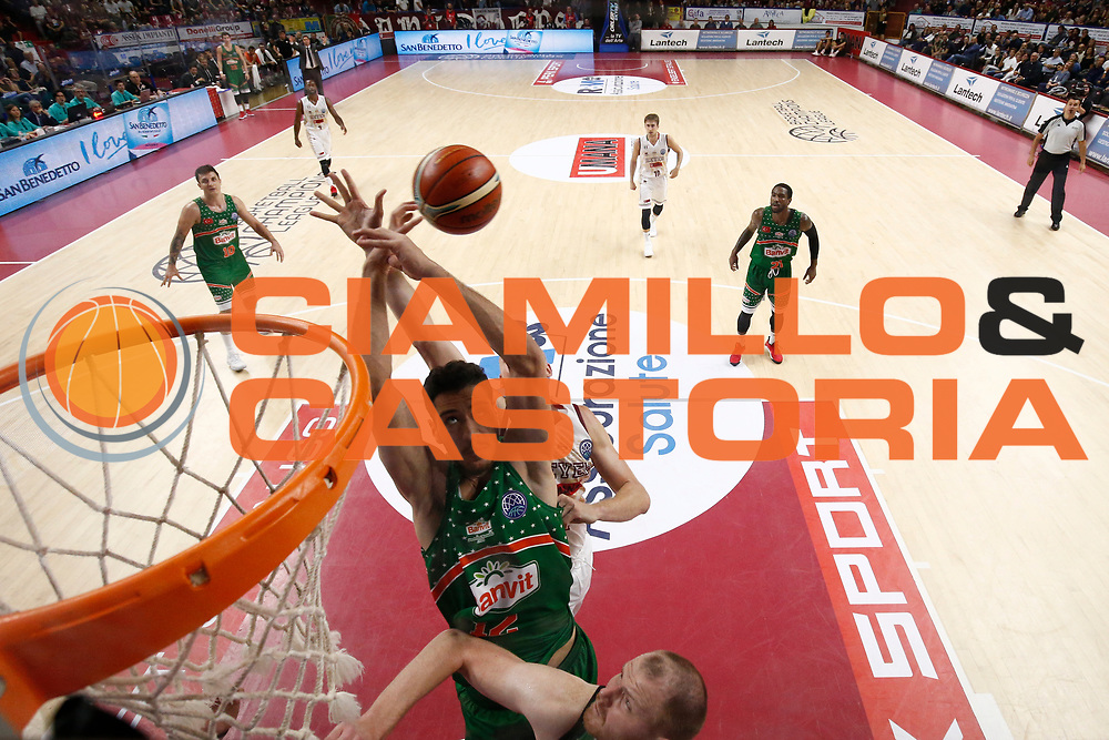 Metehan Akyel<br /> Umana Reyer Venezia vs Banvit<br /> FIBA Basketball Champions League 2017/2018<br /> Venezia,  10/10/2017<br /> Foto Ciamillo-Castoria/A. Gilardi