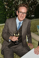 CHARLES VALLANCE Chairman of VCCP at a party to celebrate the publication of Right or Wrong: The Memoirs of Lord Bell held at Mark's Club, Charles Street, London on 16th October 2014.