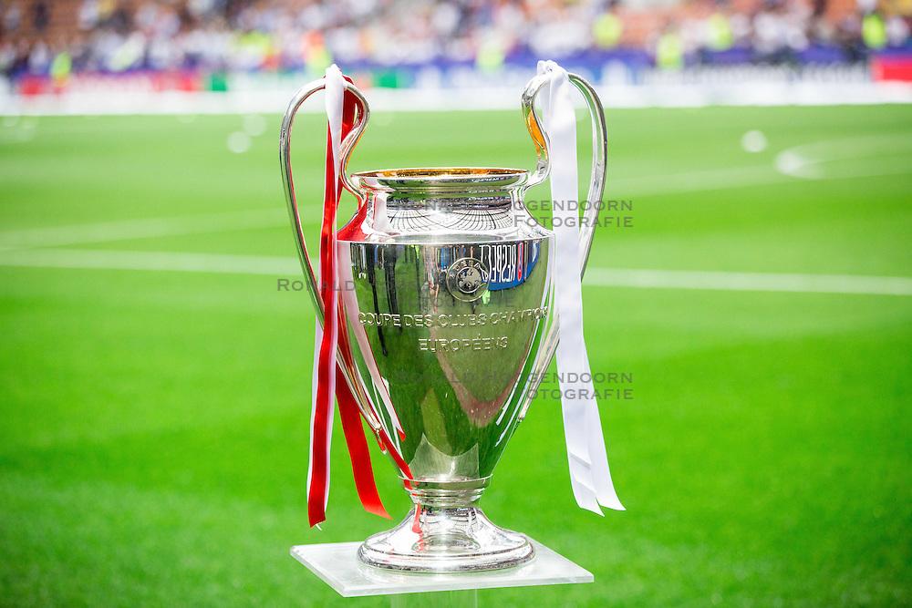 28-05-2016 ITA, UEFA CL Final, Atletico Madrid - Real Madrid, Milaan<br /> De cup met de grote oren, trophy<br /> <br /> ***NETHERLANDS ONLY***