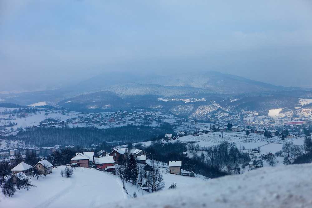 Villages beside the road leading from the city of Hadžići up to Igman which is a mountain plateau in central Bosnia and Herzegovina. During the 1984 Winter Olympics, Igman was, along with Jahorina and Bjelašnica, the location of the competition in the alpine and Nordic sports disciplines. The family of Elvis settled in Hadžići  after the war ended in Bosnia. Hadžići is a town and a municipality located about 20 km south west of Sarajevo city but within the Sarajevo Canton of Bosnia and Herzegovina. According to the census of 2013, Hadžići municipality has a population of 23,891 residents.