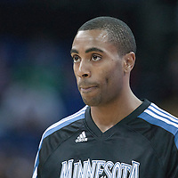 04 October 2010: Minnesota Timberwolves guard Wayne Ellington #19 is seen prior to the Minnesota Timberwolves 111-92 victory over the Los Angeles Lakers, during 2010 NBA Europe Live, at the O2 Arena in London, England.
