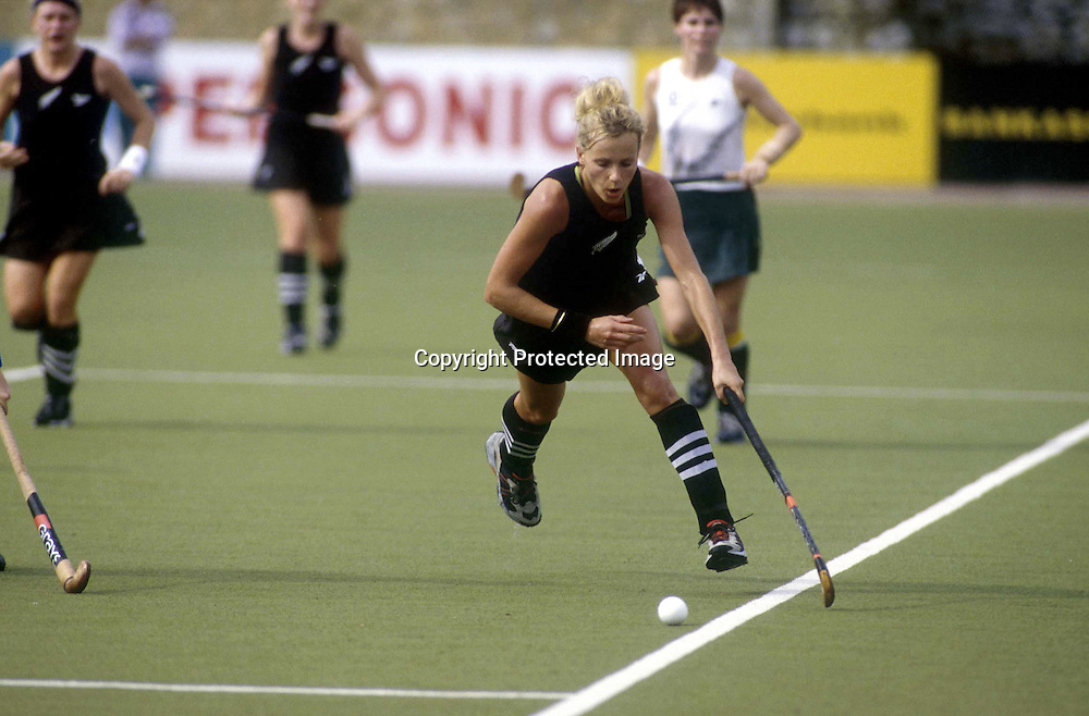 Black Sticks hockey player, Mandy Smith competes at the Commonwealth Games in Kuala Lumpur, Malaysia. September, 1998. Photo: PHOTOSPORT