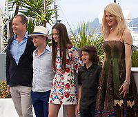 Andrew Lowe, Ed Guiney, Raffey Cassidy, Sunny Suljic, Nicole Kidman, at the The Killing of a Sacred Deer  film photo call at the 70th Cannes Film Festival Monday 22nd May 2017, Cannes, France. Photo credit: Doreen Kennedy