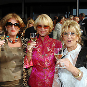 NLD/Amsterdam/20070606 - Wegener Haringparty Hilton 2007, ?, Sheila de Vries en Astrid Engels