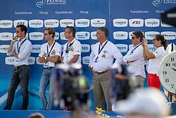 Team Belgium, Olivier Philippaerts, Pieter Devos, Frederik Bruyninckx, Peter Weinberg<br /> World Equestrian Games - Tryon 2018<br /> © Hippo Foto - Dirk Caremans<br /> 23/09/2018