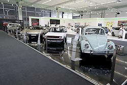05.04.2016, Zagreb, CRO, Zagreb Auto Show, im Bild Volkswagen Oldtimer // Press day at Zagreb fair before official opening of Zagreb Auto Show at Zagreb, Croatia on 2016/04/05. EXPA Pictures &copy; 2016, PhotoCredit: EXPA/ Pixsell/ Dalibor Urukalovic<br /> <br /> *****ATTENTION - for AUT, SLO, SUI, SWE, ITA, FRA only*****