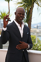 Djimon Hounsou at the photocall for the film How to Train Your Dragon 2 at the 67th Cannes Film Festival, Friday 16th May 2014, Cannes, France.