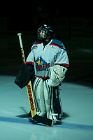 KELOWNA, CANADA - FEBRUARY 14:  The Pepsi Save On Foods player of the game lines up with the Kelowna Rockets against the Red Deer Rebels on February 14, 2018 at Prospera Place in Kelowna, British Columbia, Canada.  (Photo by Marissa Baecker/Shoot the Breeze)  *** Local Caption ***