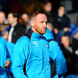 TELFORD COPYRIGHT MIKE SHERIDAN 16/2/2019 - Gavin Cowan during the Vanarama Conference North fixture between Stockport County and AFC Telford United at Edgeley Park
