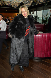 BAY GARNETT at the mothers2mothers World AIDS Day VIP Lunch with Next Management & THE OUTNET.COM held at Mondrian London, 19 Upper Ground, London on 1st December 2014.