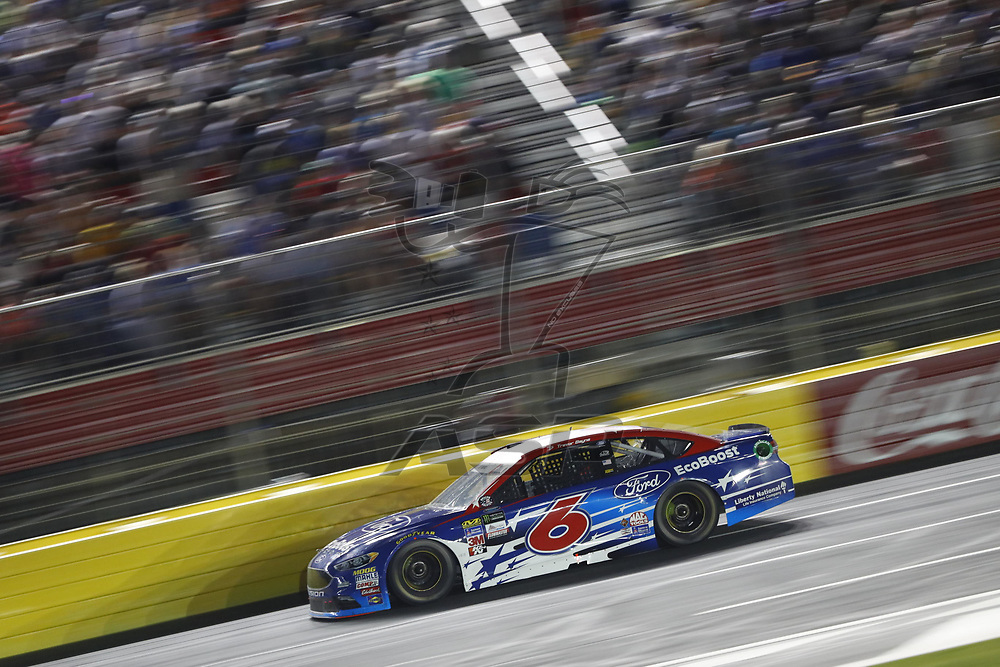 May 28, 2017 - Concord, NC, USA: Trevor Bayne (6) battles for position during the Coca Cola 600 at Charlotte Motor Speedway in Concord, NC.